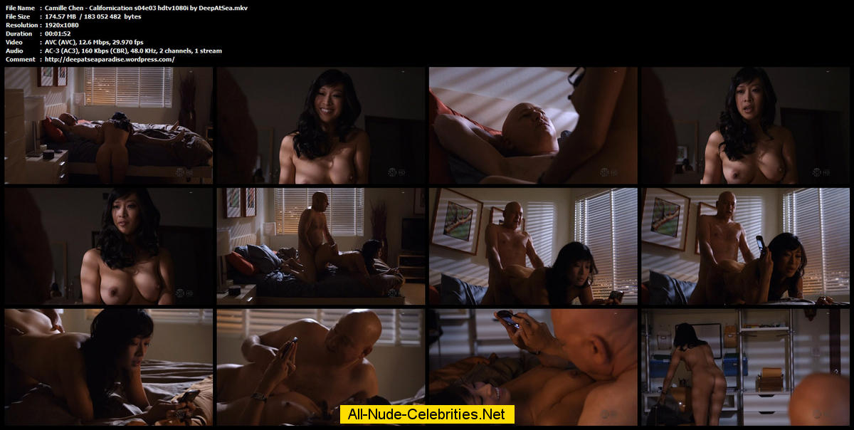 Naked camille chen in californication ancensored