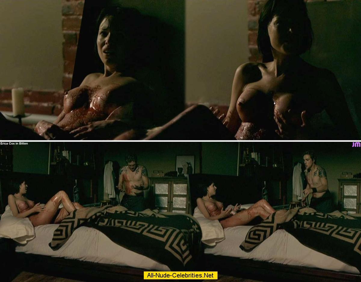 Erica Cox Bitten Bitten Beautiful Celebrity Sexy Nude Scene