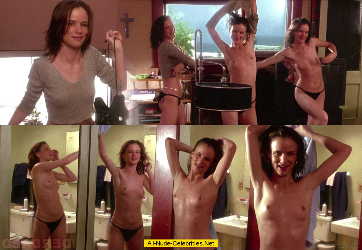 Juliette lewis nude nipples under shirt
