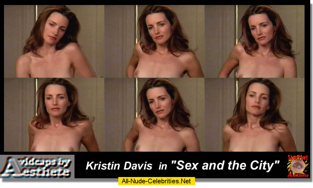 Sex and the city star kristin davis wouldn't be alive without role