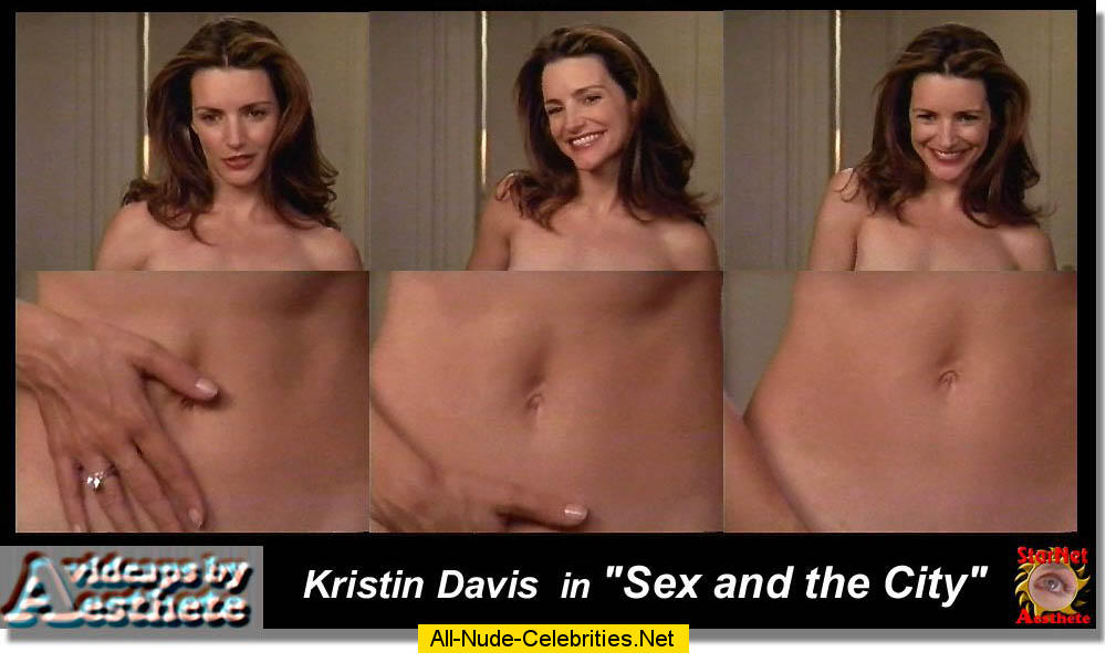 Kristin Davis Showing Her Hairy Pussy And Gives Blowjob