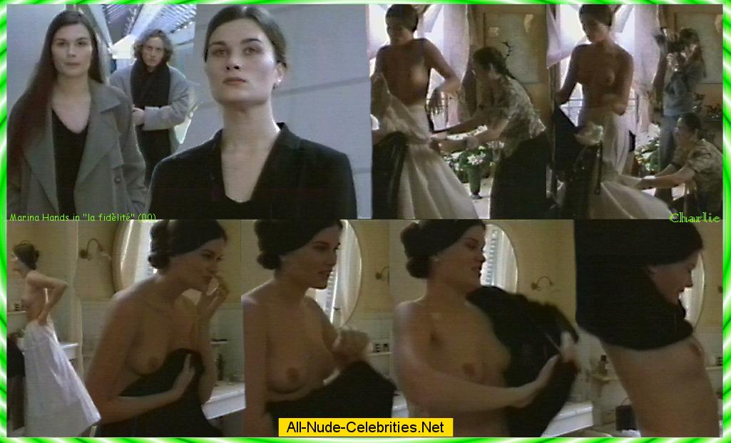 Marina hands nude tits, ass and pussy in lady chatterley