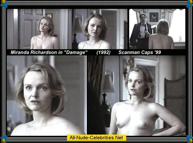 Miranda richardson breasts scene in the night and the moment