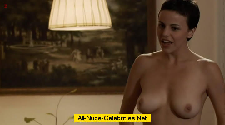 Alejandra Ambrosi exposed her juicy boobs vidcaps