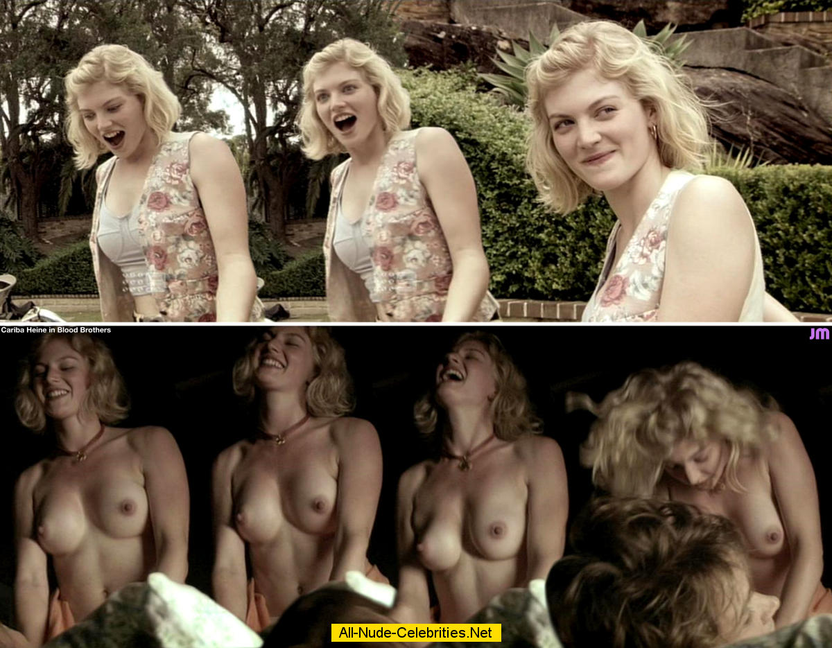 Cariba Heine sexy and topless movie captures