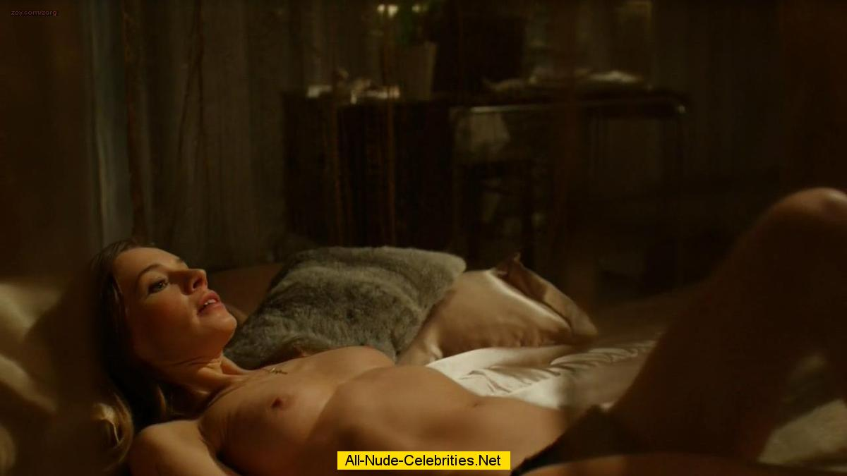 Cobie Smulders nude but covered in hot sex scene - Friends