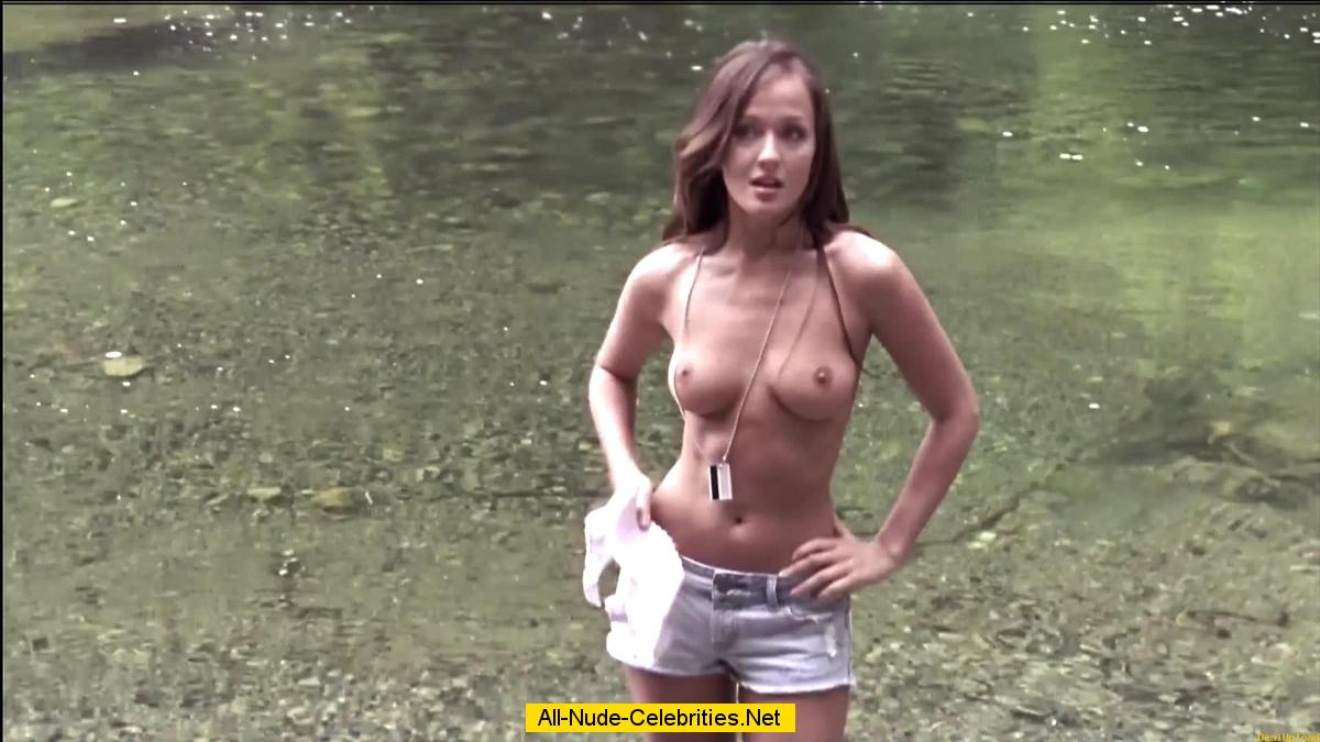 Topless female dead nsfw movie