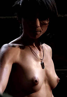 Manuela Martelli fully nude in The Future