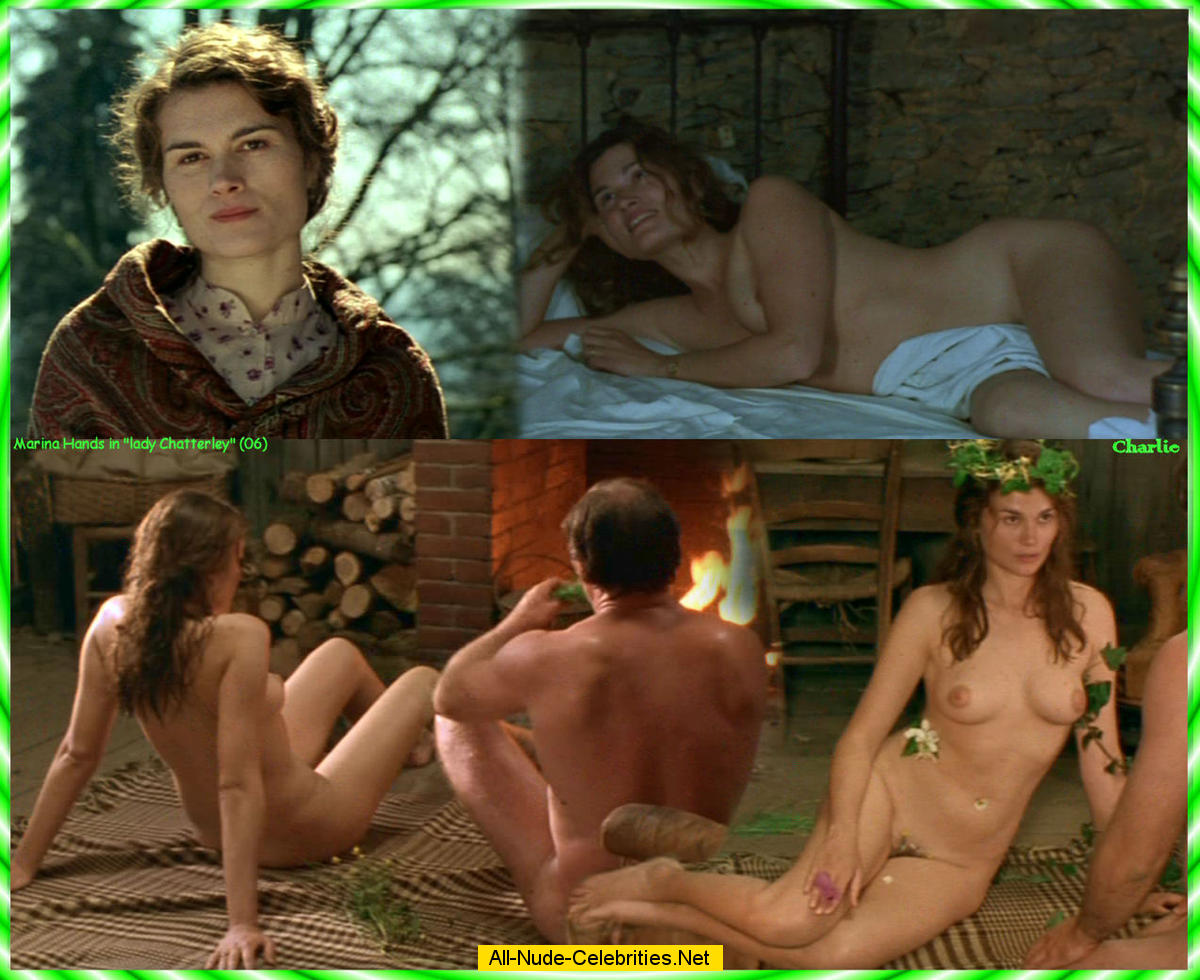 Marina Handsfuly nude scenes from Lady Chatterley