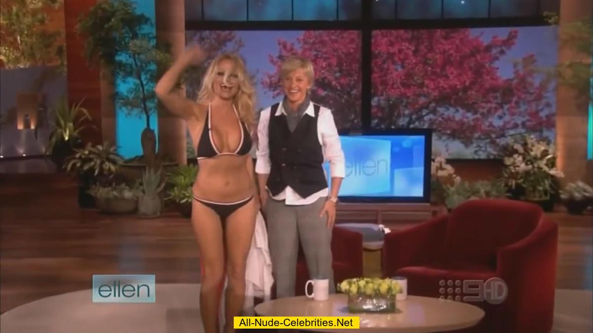 pamela anderson bikini ellen