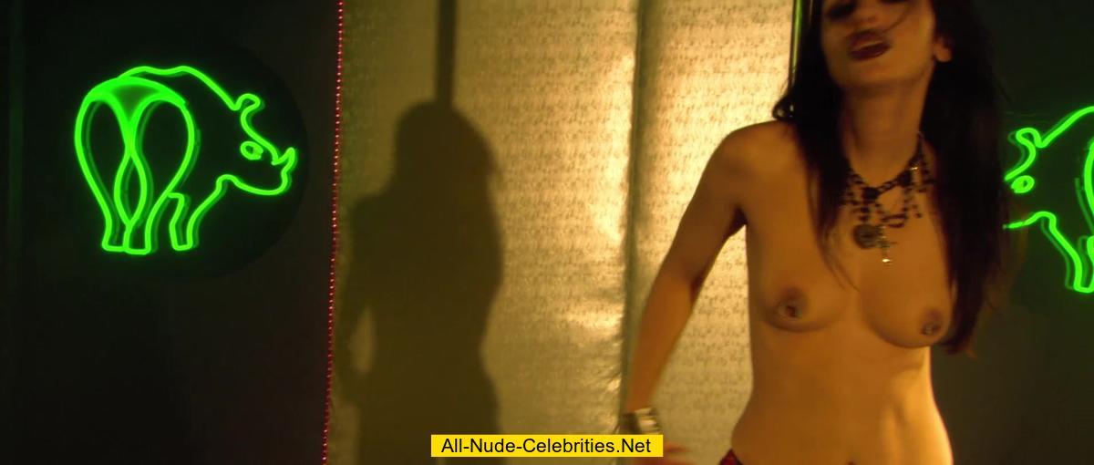 roxy saint topless in zombie strippers